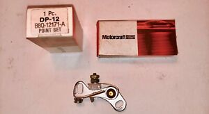 1957-1974 Ford Thunderbird Motorcraft 8 Cyl. NOS Point Set #B8Q-12171-A, DP12