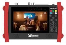 "Amiko X-Finder 3 PRO 7"" HD DVB-S/S2 + C/T/T2 Spektrum Combi Messgerät Satfinder"