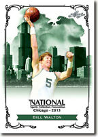 50) BILL WALTON - 2013 Leaf National Convention PROMOTIONAL Basketball Card LOT