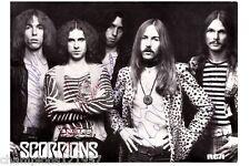 Scorpions ++Autogramm++ ++Deutsche Rock Legende++