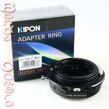 Kipon Tilt & Shift Nikon F AF-S G lens to Micro 4/3 mount T&S Adapter GF6 E-PL6