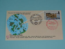 WWII FDC #82 MacArthur Returns Philippine Islands Japan