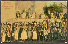 Bolivia Postcard Musicos Indios De Copacabana Music Natives L@@K