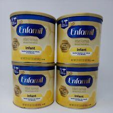 Enfamil infant formula milk based baby formula powder can 21.1 oz 4 pack