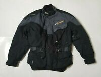 Cycloak Mens Large Motorcycle Jacket Made With Kevlar Goretex w/ Liner Black