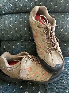 Merrell Men's Hiking Trail Shoes Walnut Brown Vibram 13 Outdoor