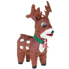 Reindeer Shaped Pinata Party Game Decoration