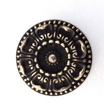 Antique Hardware French Provincial Drawer Pull Vintage Flower Knob Cabinet Brass