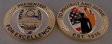 Casa Grande AZ Arizona Police Chief CHALLENGE COIN Presented for EXCELLENCE