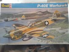 P40 WARHAWK 1/32 SCALE REVELL MODEL VINTAGE 1975