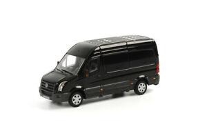 VW-Volkswagen crafter in black,WSI truck models 04-1030,1:50 scale