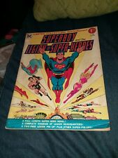 Superboy and The Legion of Super-Heroes DC Treasury Edition C-49 1976 bronze age