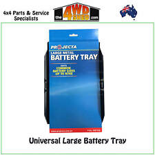 Projecta Universal Metal Battery Tray Large Dual or Replacement Batteries