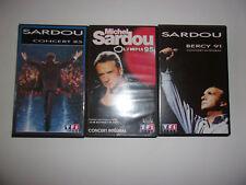 LOT K7 VIDEO VHS SPECIAL MICHEL SARDOU