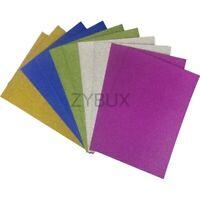 Or A4 fixe Glitter papier cartonné 220gsm Ultra Basse Abri Carte Mariage Arts Crafts
