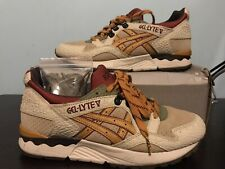 2015 ASICS Gel Lyte V 5 Workwear Pack Leather Rare Kith Ronnie Fieg Iii 3