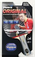 YASAKA RACKET ORIGINAL , CHAMPION LINE, FLARED HANDLE (FL) FOR TABLE TENNIS