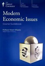Teaching Co. Great Courses MODERN ECONOMIC ISSUES (18 CD Audio) #5610  Pristine!