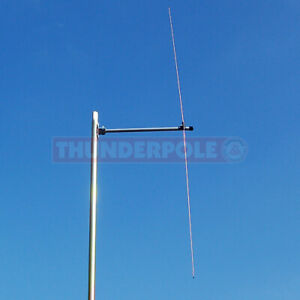 Thunderpole Dipole Antenna 66-500 MHz FM Broadcast, PMR 446 2m 4m 70cm Airband