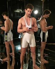 46b1f8faf4 N2N Bodywear Men s University Singlet Only White Left