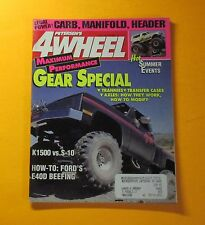 PETERSON'S 4 WHEEL MAGAZINE SEPT/1991...GEAR SPECIAL: TRANNIES..TRANSFER CASES