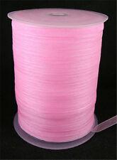 """Woven Edge Sheer Organza Ribbon Gift Packing Ribbon Bow 1/4""""(6mm) 500yards/roll"""