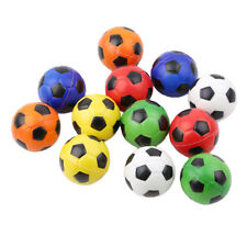 Set of 12 Table Soccer Foosballs Replacements Mini Colorful Soccer Balls Kid Toy