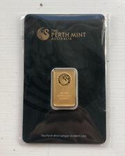 5g Perth Mint Gold Bar