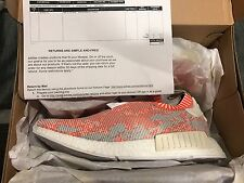ADIDAS NMD R1 PK WHITE RED PINK CAMO GLITCH BA8599 NOMAD PRIMEKNIT BOOST.