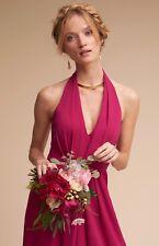 NEW $280 BHLDN Jill Stuart Rasa Dress Size 8 Wild Rose Long Gown