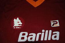 roma barilla patrick playground maglia match worn vintage shirt toppa stemma