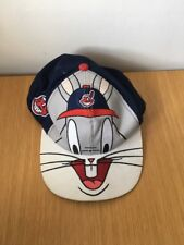Cleveland Indians Bugs Bunny Looney Tunes Snapback Cappello Berretto Nutmeg Mills 1995