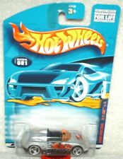 Hot Wheels 2001 Extreme Sports Series MX-48 Turbo silver,excellent card