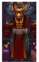🔥 World of Warcraft TABARD OF FLAME TCG LOOT Landro Longshot WOW Card & Code 🔥