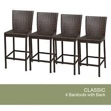 4 Classic Barstools w/ Back