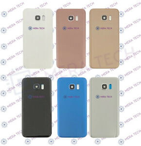Rear Back Battery Cover Glass For Samsung Galaxy S7 Edge SM-G935F & Camera Lens