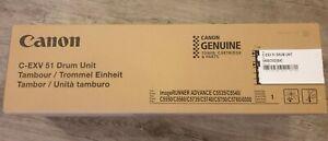 Genuine New Canon C-EXV51 Drum Unit 0488C002BA iR Adv C5550