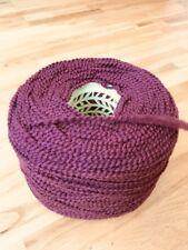 Boucle//gimp Yarn In A Fuchsia Pink Shade. Large 1000 Gram ConeOf Chunky 95/%Wool