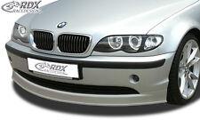 RDX Frontspoiler BMW E46 Limousine Touring 02+ Front Spoiler Lippe Vorne Ansatz