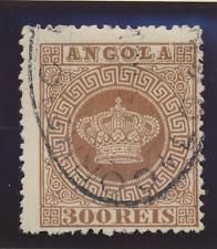 Angola Stamp Scott #9, Used