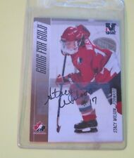 2006-07 ITG Going For The Gold Stacy Wilson Autograph Card