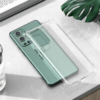 Shockproof Silicone Soft TPU Clear Case Cover For OnePlus 9/9Pro