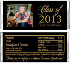 Graduation Your Photo ANY COLORS Candy Wrappers Party Favors Personalized