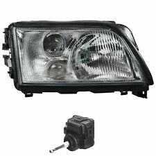 Halogen Headlight Right for Audi A6 C4 94-97 H1+H1+H3 Incl. Motor