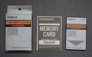 ROLAND M-256E SOUND MEMORY CARD 256 DATA RAM 32K