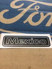 "Ford Escort Mk2 ""MEXICO"" Dashboard Decal"