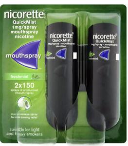 Nicorette Quickmist Mouth Spray X10 BRAND NEW