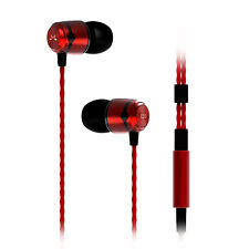 SoundMAGIC E50 Intra-Auriculaire ISOLANT casque - Rouge - Neuf