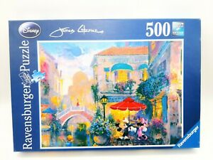 500 Pieces Puzzle - Mickey And Minnie IN Venice From James Coleman -