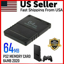 000001C2 Oem Spec Ps2 Memory Card 64Mb For Sony Playstation 2 - Brand New - Play Station